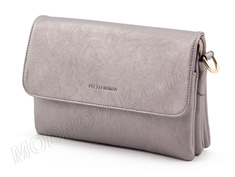c8942e671158 Серебристый клатч-сумка Pretty Woman: купить в Киеве, Украине | MODNOTAK