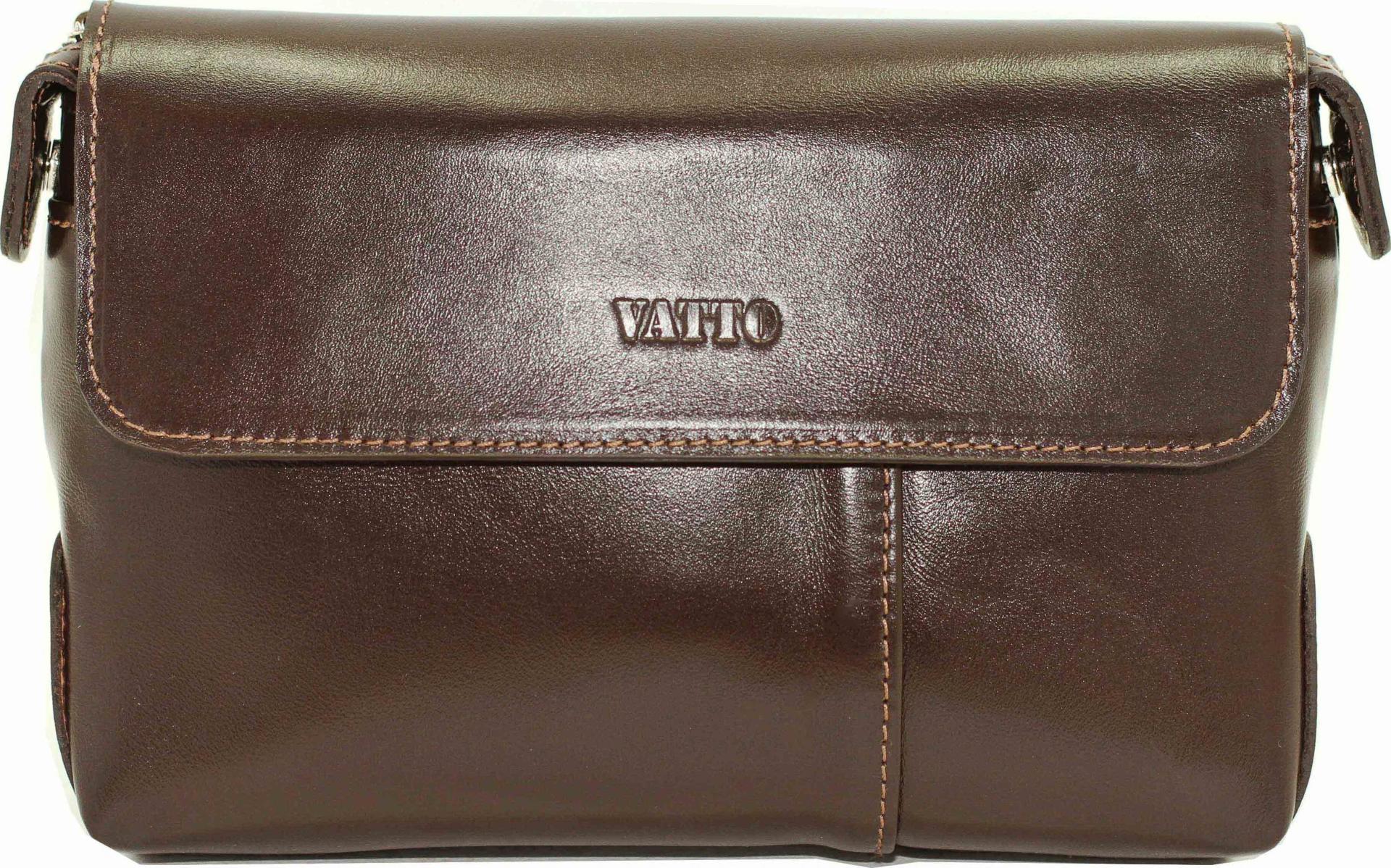 9179f8d612cc Мужской клатч коричневого цвета VATTO (11940) купить в Киеве, цена ...